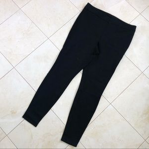 a new day Skinny Trousers Black Size L